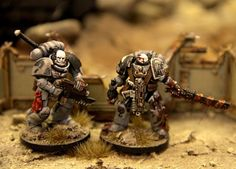 Carcharodons Space Marine Chapter by Teemu Valve