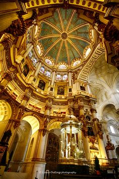 Granada Cathedral, Spain ~ By Louis Outing