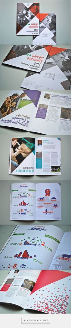 [Inspirations éditoriales] - Rapport d'activités 2014 de la Chambre d'Agriculture © Pollen Studio
