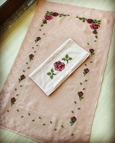 Islamic Art Calligraphy, Home Accessories, Old Things, Cross Stitch, Embroidery, Sewing, Kitchen, Tablecloths, Ornaments