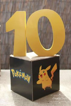 Denise D's Birthday / Pokemon - Photo Gallery at Catch My Party Hubby Birthday, 10th Birthday Parties, 7th Birthday, Pokemon Themed Party, Pokemon Birthday, Pokemon Decor, Minecraft Party, Party Time, Party Ideas