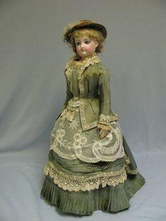 Antique F G French Fashion Doll