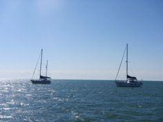 Sail Boats Atlantic Side in the Florida keys.
