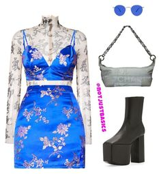 """Untitled #165"" by steffany-rivera on Polyvore featuring Dsquared2, Balenciaga and Chanel"