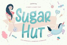 Sugar Hut - Free Font of The Week from FontBundles.net