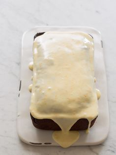 Double Chocolate Pound Cake // spoon fork bacon