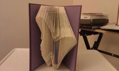 Folded Book Art  Butterfly  Made to order by MissArtsyCraftsy, $18.00