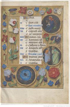 Livre d'heures, en latin