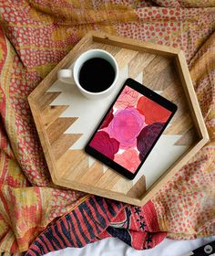 The days might be cold and gray, but we have these digital wallpapers to keep us warm. (A blog from the Creative Studios at Hallmark.)