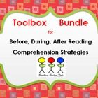 This bundle of toolboxes for CLOSE Reading have fun tools and strategies for previewing, decoding, comprehension and retell.  Hands on tools for K-...