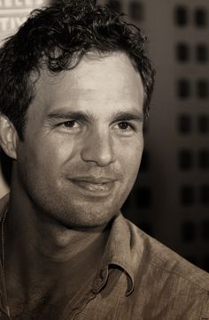 "Mark Ruffalo - such a wonderful man - and a dreamboat ... can't wait for ""Thanks For Sharing"""