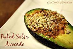 Baked Salsa Avocado by K-Wall, via Flickr