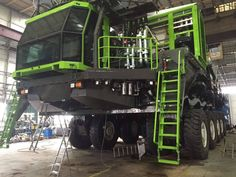 The First Etf Mt 240 Mining Truck Under Construction In