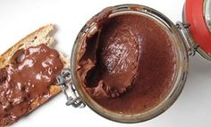 The perfect homemade chocolate spread.