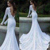 I think you'll like Glamorous Wedding Dress Evening Formal Gown Lace Long Dress. Add it to your wishlist!  http://www.wish.com/c/55376ba678a59d0c00bd6ae8
