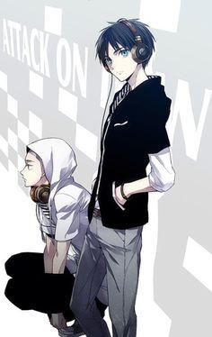 Eren Jaeger and Connie, Attack on Titan/Shingeki no Kyojin