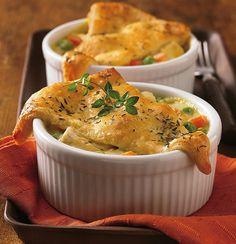 Recipe: Mini Crescent Chicken Pot Pies by Pillsbury.com, via Flickr