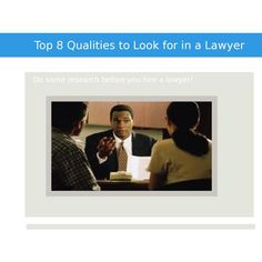 Qualities that a perfect lawyer must have | Jeremy Eveland