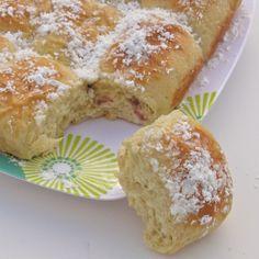 Buchty!!!! ~ Jam-filled bread is a traditional Czech/Slovak recipe.