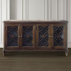 Bassett Furniture Moultrie Park Door Console.  Order your piece at Jacobs Upholstery.