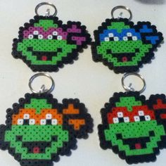 TMNT perler beads by nicolaspimms