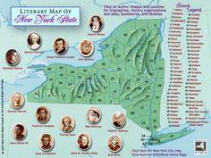 New York City Authors - New York State Literary Tree