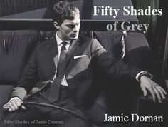 Jamie Dornan is Christian Grey #fiftyshades