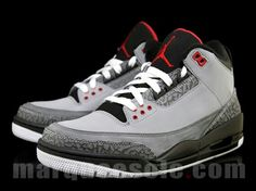 finest selection a0c6a 36410 Air Jordan III - Stealth Varsity Red Black White - Sept. 2011