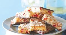 The best Cherry coconut slice recipe you will ever find. Welcome to RecipesPlus, your premier destination for delicious and dreamy food inspiration. Chocolate Slice, Chocolate Cherry, Chocolate Recipes, Coconut Lime Cake, Coconut Slice, Cherry Recipes, Orange Recipes, Sticky Date Pudding, Avocado Mousse