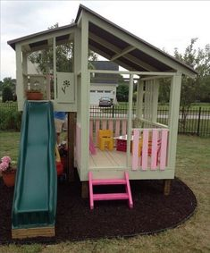 Playground Ideas Backyard for Kids_22