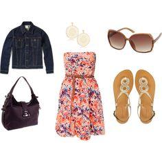 Sundress in the Summer