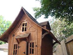 Storybook Cottage storage shed plans / chicken coop plans