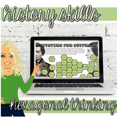 This resource is a hexagonal thinking and writing activity that is intended to be used in conjunction with the podcast, The Agitators: The Story of Susan B. Anthony and Frederick Douglass. This resource includes hexagonal thinking samples and teacher tips. Links are included. Learning Styles, Learning Resources, Tulsa Race Riot, Bell Work, Secondary Source, Frederick Douglass, History Class, Thinking Skills, Teacher Hacks