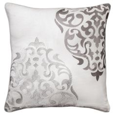 Mudhut Hope Embroidered Medallion Pillow - 20x20