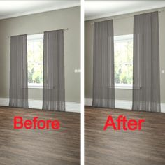 Curtains control light and privacy, while also reflecting your own personal style. However, these cool curtain hacks can show you how to do a whole lot more with this humble window covering!