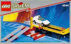 Lego Cargo Transport Wagon 4544 -  Got it