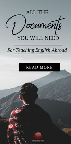 If you are not sure what documents you need to organize for your adventure teaching English abroad, take a look at this simple breakdown. Teaching Overseas, Teaching Jobs, Teaching Strategies, Teaching Ideas, Au Pair, Teaching English Online, English Teachers, Travel Jobs, Work Abroad