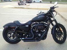 Harley-Davidson : Sportster 2012 HARLEY DAVIDSON XL883 IRON