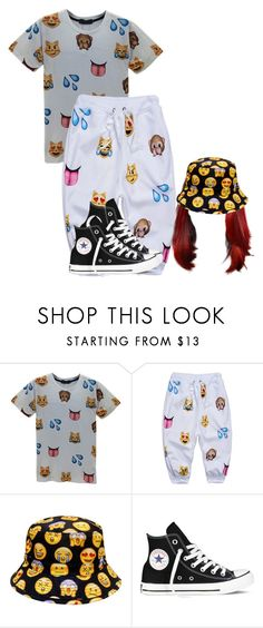 """""""❤"""" by siniababy ❤ liked on Polyvore featuring Converse"""