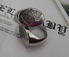 Game of Thrones charm, House Stark's Wolf Ring, A Song of Ice and Fire