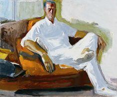 Self Portrait - Tetsis Panagiotis Greek, Oil on canvas Paisley Art, Greek Art, Portrait, Oil On Canvas, Greece, Painting, Kunst, Greece Country, Headshot Photography
