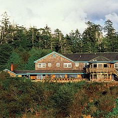 Where to stay on the coast, in the rain forest, by the hot springs, and even outside the park
