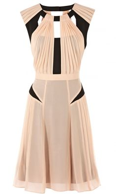 Warehouse Pleated Dress, £85