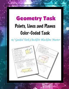 points lines and planes worksheet worksheets planes and math. Black Bedroom Furniture Sets. Home Design Ideas