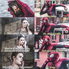 If Stiles was Spiderman