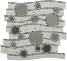 Province Circles Marble Tile $52.45 love it... >:)
