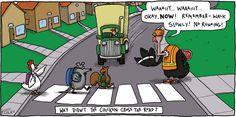 The Argyle Sweater comic strip