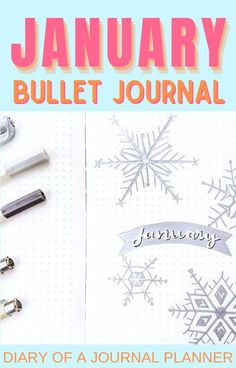 Plan with us your January bullet journal spread with these winter-themed page ideas! #bulletjournal #planneraddicts #bulletjournaltheme January Bullet Journal, Bullet Journal Monthly Spread, Bullet Journal Banner, Bullet Journal How To Start A, Bullet Journal Notebook, Bullet Journals, Bullet Journal Layout Templates, Bullet Journal Contents, Bullet Journal Printables