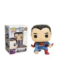 DC Comics Justice League Pop! Heroes Superman Vinyl Figure,