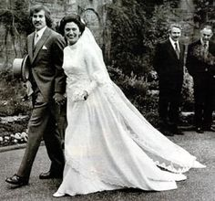 Wedding of Prince Thibaut of France  and Marion Gordon-Orr married1972 - created Comte de la Marche: